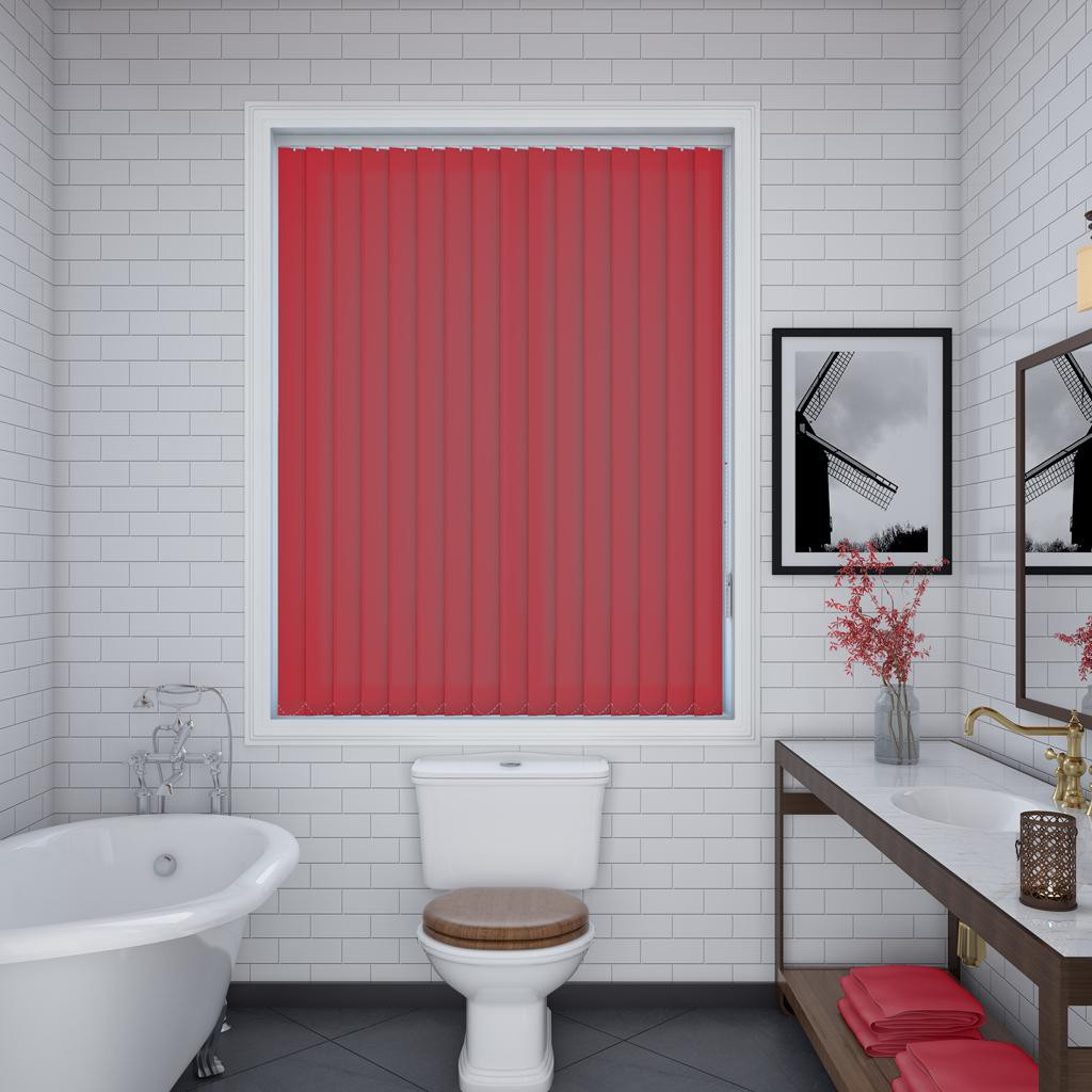 Splash Ruby Vertical Blind Quality Window Blinds By The